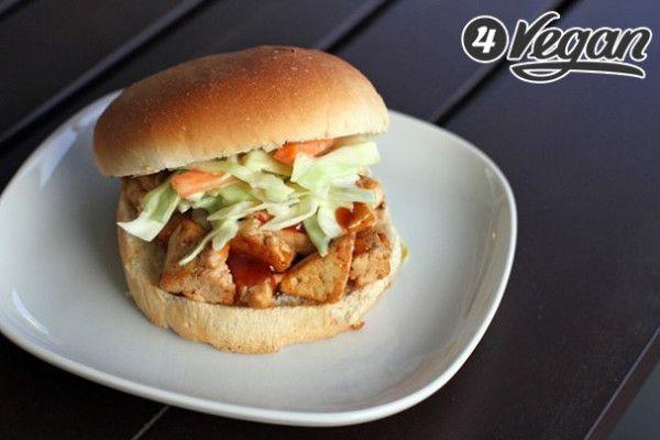 Бургер с запеченным тофу | 4VEGAN.RU: самый полезный сайт для тех, кто заботится о планете, животных и собственном здоровье