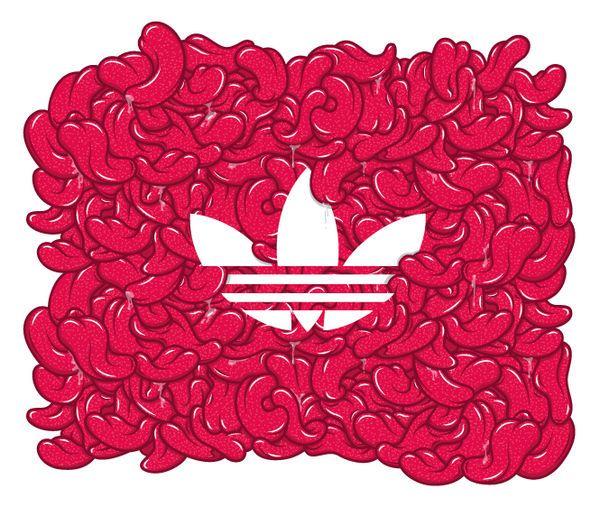 adidas logo ilustrado