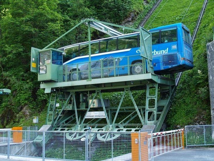 larchwandschragaufzug le funiculaire le plus grand d europe 4    Lärchwandschrägaufzug le funiculaire le plus grand dEurope   record du mond...