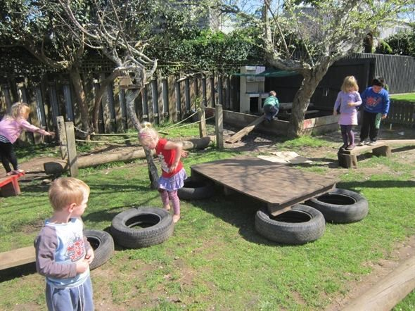 "Obstacle Courses - image shared by Natural Steps Early Childhood Centre ("",)"