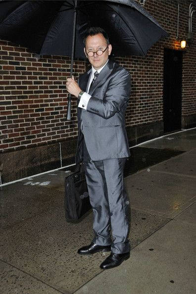 Michael Emerson - Michael Emerson Arrives at the 'Letterman' Studios