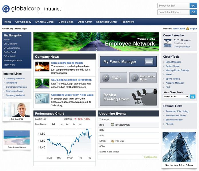company intranet template - 48 best intranet pages images on pinterest sharepoint