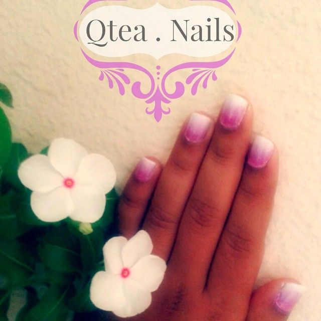 https://www.instagram.com/explore/tags/qteanails/ Lovely lilac ombre!! Just amazing for those who want a fresh look!! #qteanails  #nailart #greece