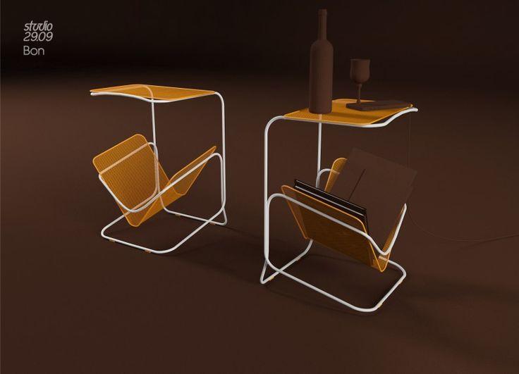 magazine rack design