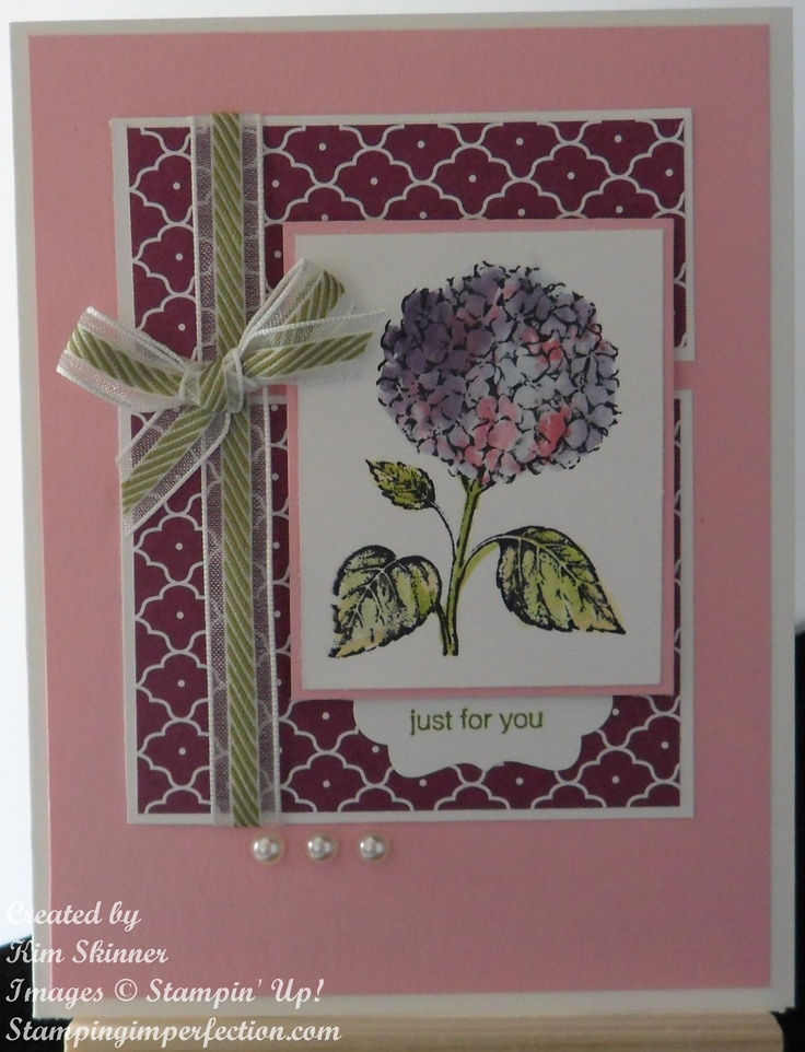 More With The Best of Flowers From Stampin Up!