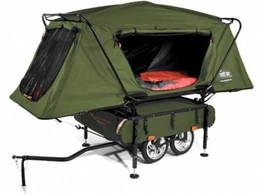 Pop-Up Camper, for a freaking bike!