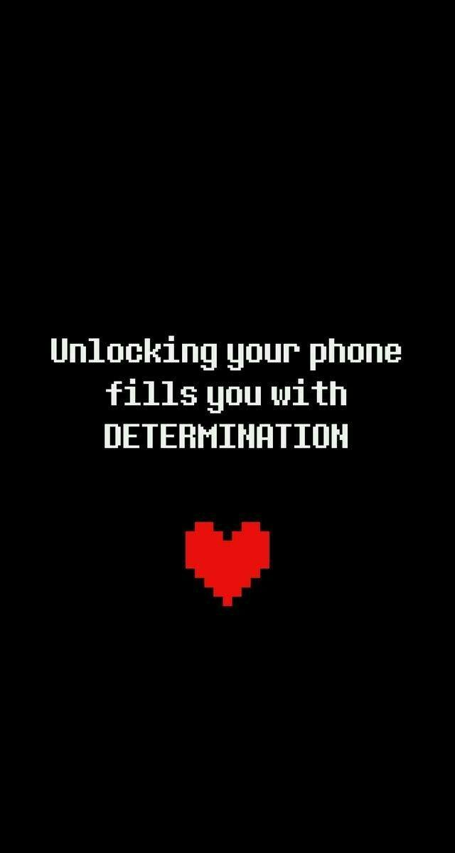 undertale determination background