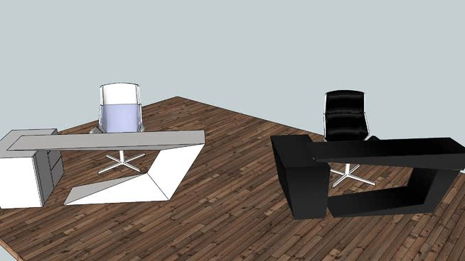 Office Excutive Desk 3d Warehouse In 2020