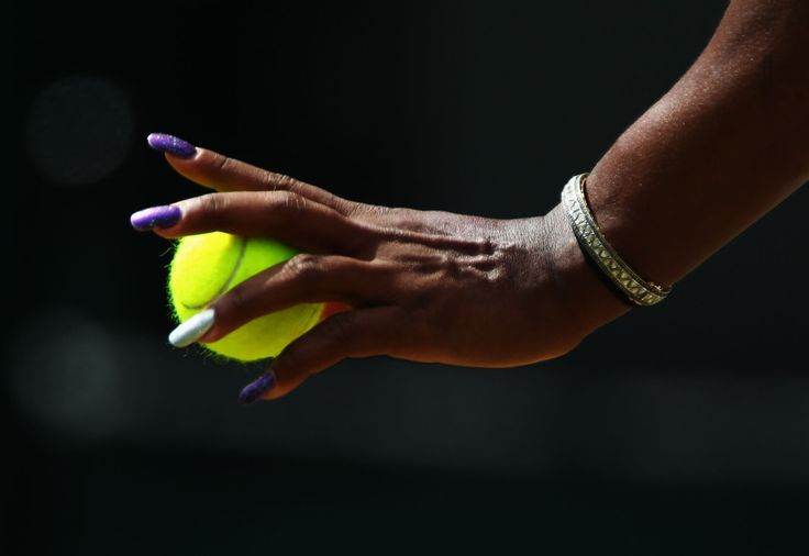 Serena Williams of the United States prepares to serve during her fourth round match against Marion Bartoli of France on Day Seven of the Wimbledon Lawn Tennis Championships at the All England Lawn Tennis and Croquet Club on June 27, 2011 in London, England.