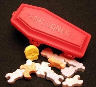 Mr. Bones Coffin Candy
