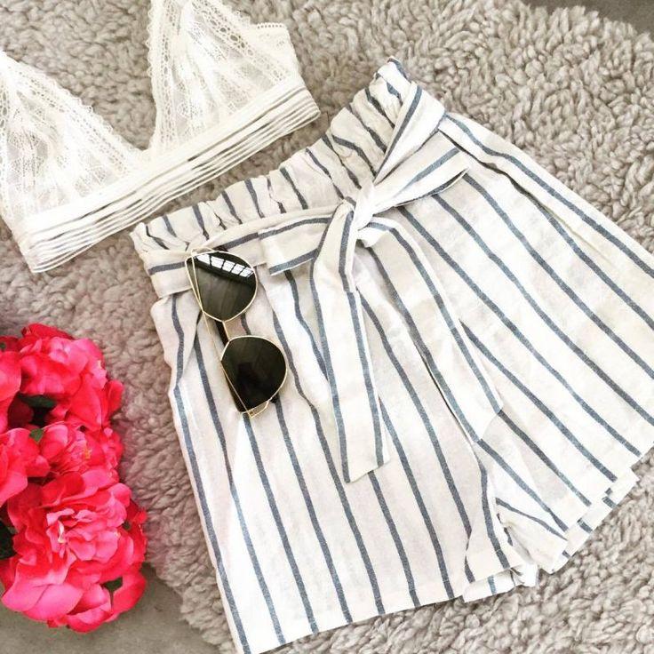 Linen White Short