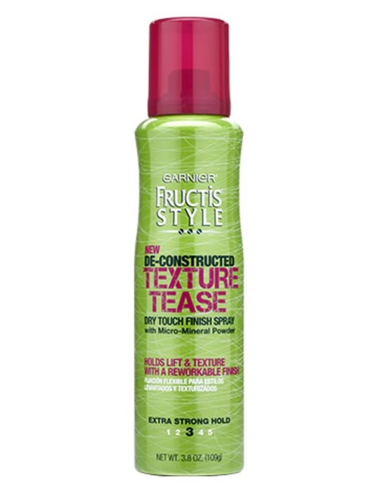 Garnier De-Constructed Texture Tease Finish Spray, dupe for bumble and bumble