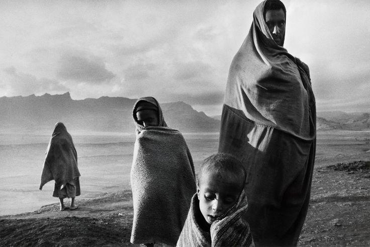 Ethiopia photo by Sebastião Salgado, 1984