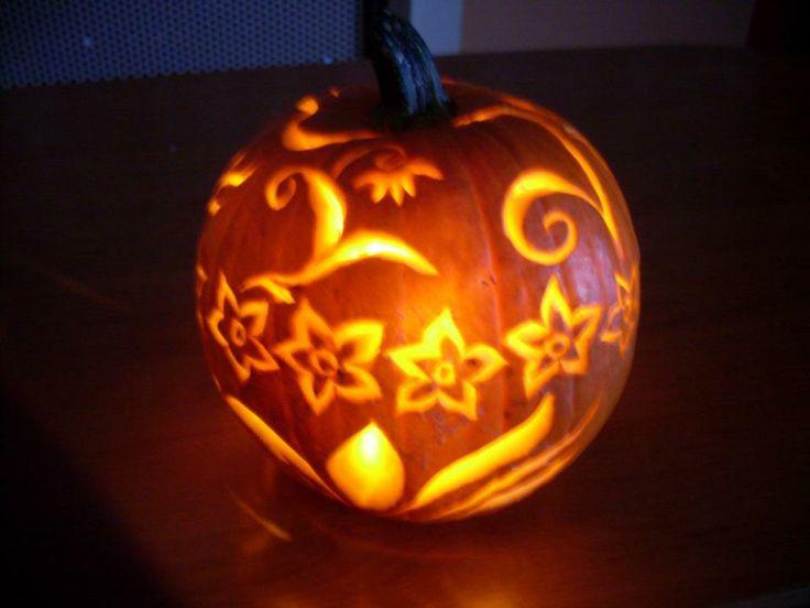 hellowen tök faragás