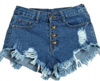 Women's Denim Jean Shorts