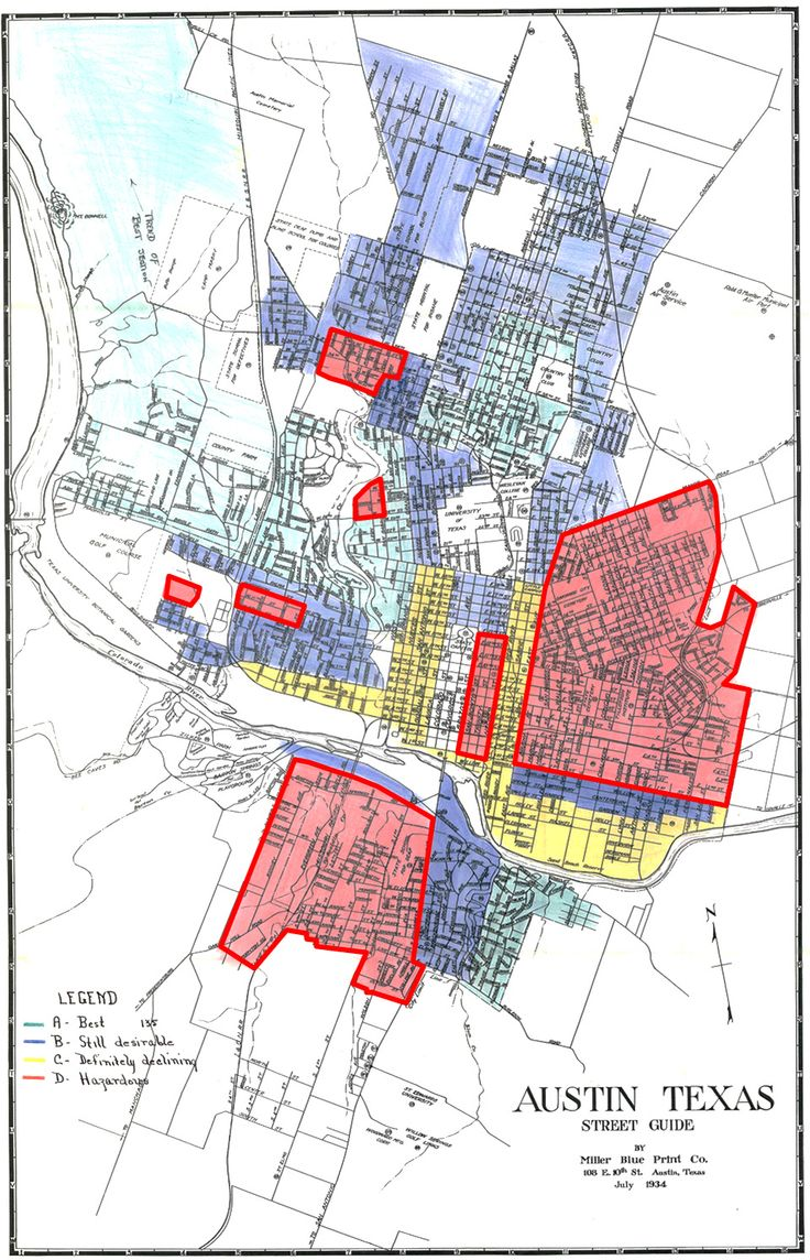 Best Redlining Maps Of US Cities Images On Pinterest - Race maps of us cities