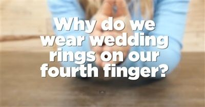 The marriage bond is one of the strongest of all. And when you see this heartwarming theory as to why we wear our wedding rings on our 4th finger, you'll be in awe. This is absolutely beautiful!