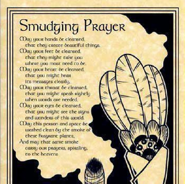 Smudging Prayer Smudging Pinterest Wicca Love This