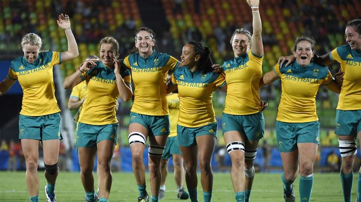 The stories behind the women: meet the world's first gold medal-winning rugby 7s…