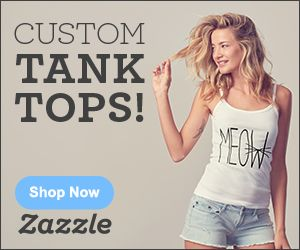 Zazzle's tank top section, where you can find many styles, colors, and sizes of tank tops ready to be personalized or purchased as is. Zazzle's tanktops can be personalized with images or text. There isn't a minimum for tank top orders so make your one-of-a-kind order today! Add text for free! To browse other related products, check out the main page.