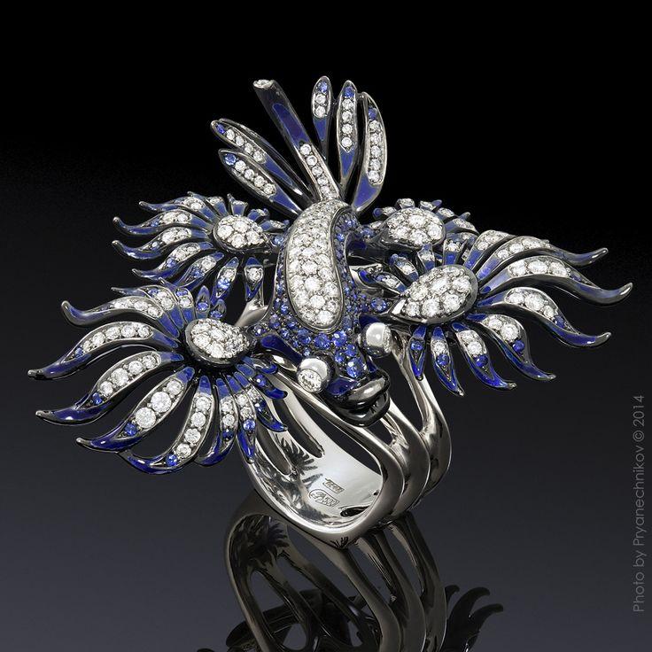 Jewellery Photography. Фото Ювелирных изделий с бриллиантами, драгоценными камнями и эмалью. Ювелирный постер. Diamond Jewelry.