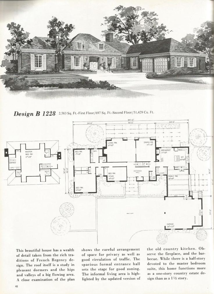 570 best vintage house plans images on Pinterest Vintage house