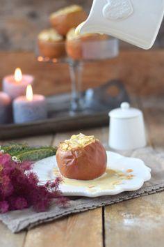 Bratapfel mit Marzipan Füllung und Marzipan Sauce - Baked Apple (6)