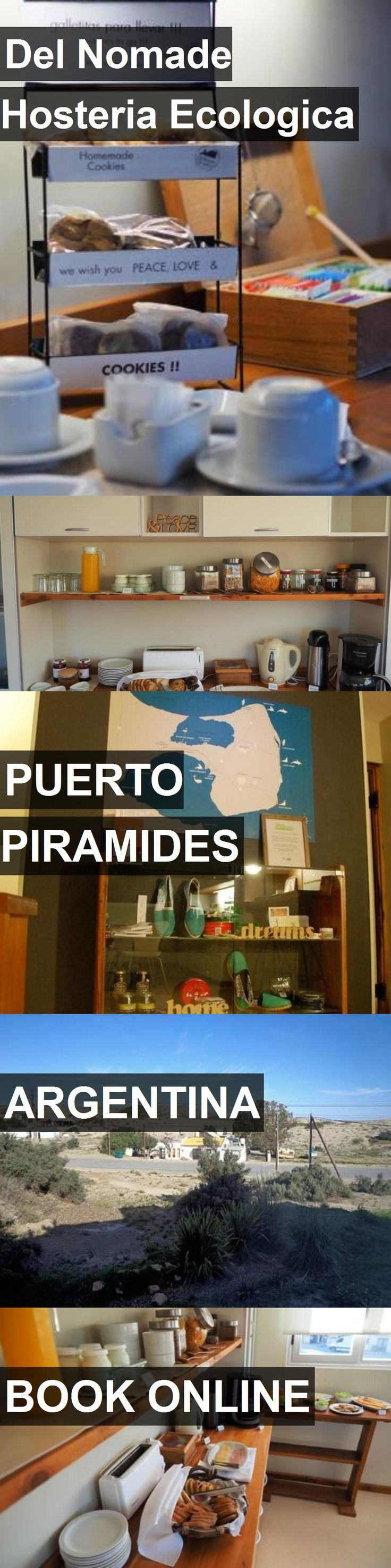 Hotel Del Nomade Hosteria Ecologica in Puerto Piramides, Argentina. For more information, photos, reviews and best prices please follow the link. #Argentina #PuertoPiramides #travel #vacation #hotel