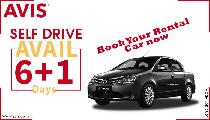 Why hand the car keys to someone else? Grab the steer and roll in those branded wheels off to your destination. No matter how long the trip is, you will get the best experience of your life! After all who doesn't like to drive a car? Driving gives you a sense of self-worth and confidence. Book your choice @AVIS India http://bit.ly/1p2tjLb. Enjoy the new offer of booking 7 days in advance and getting 6 days billed. That means you save 1 day booking expense! Hurry!!!
