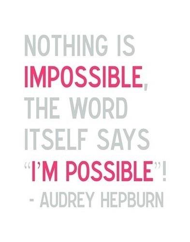 Adrey Hepburn quote