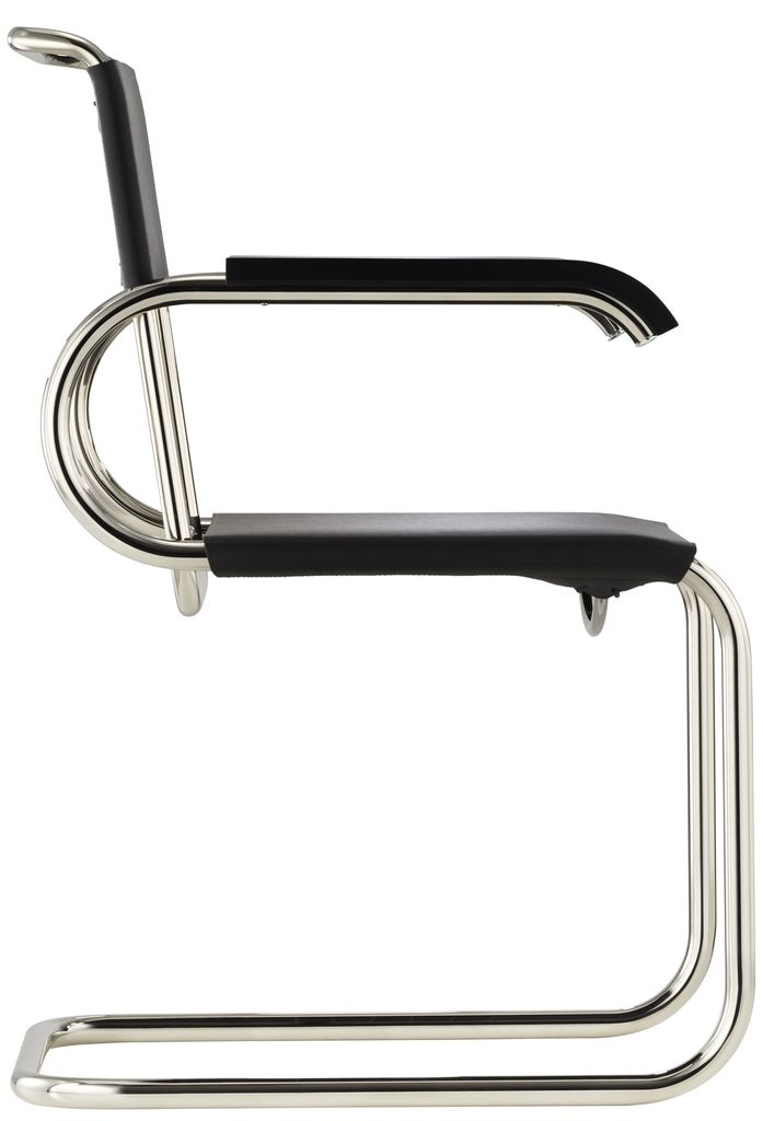 tecta d40 eisengarn armlehn freischwinger bauhaus marcel. Black Bedroom Furniture Sets. Home Design Ideas