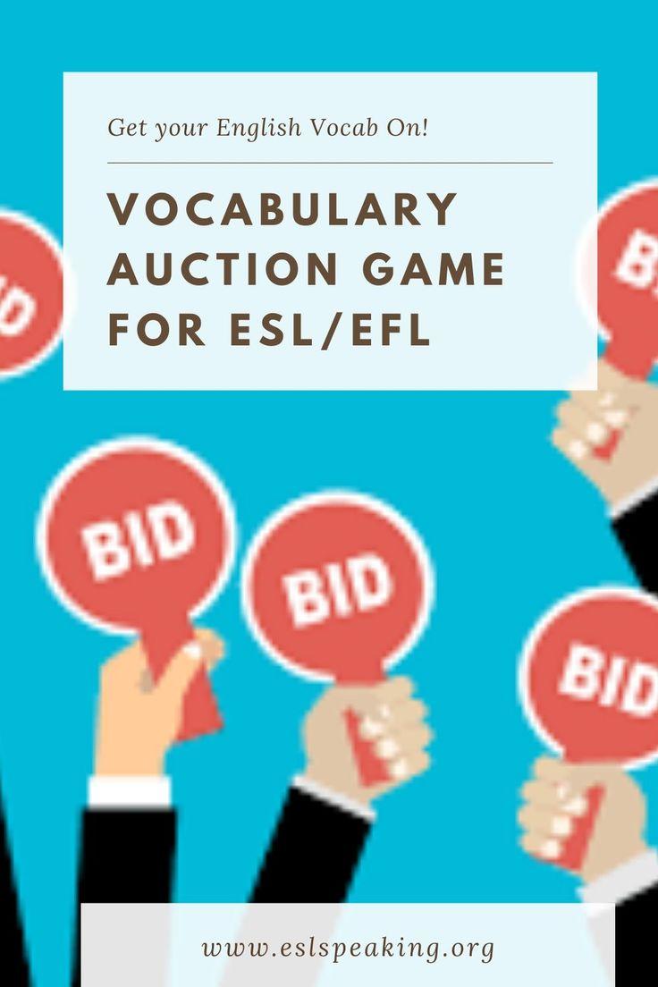 Auktion Englisch