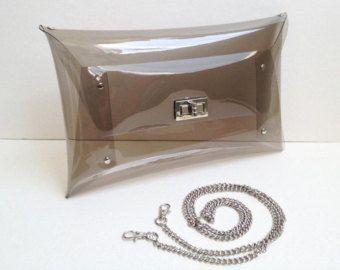 Gros embrayage Classic Classic sac clair embrayage par 9September
