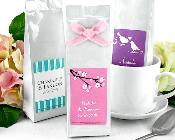 Personalized Exclusive Gourmet Coffee Favors