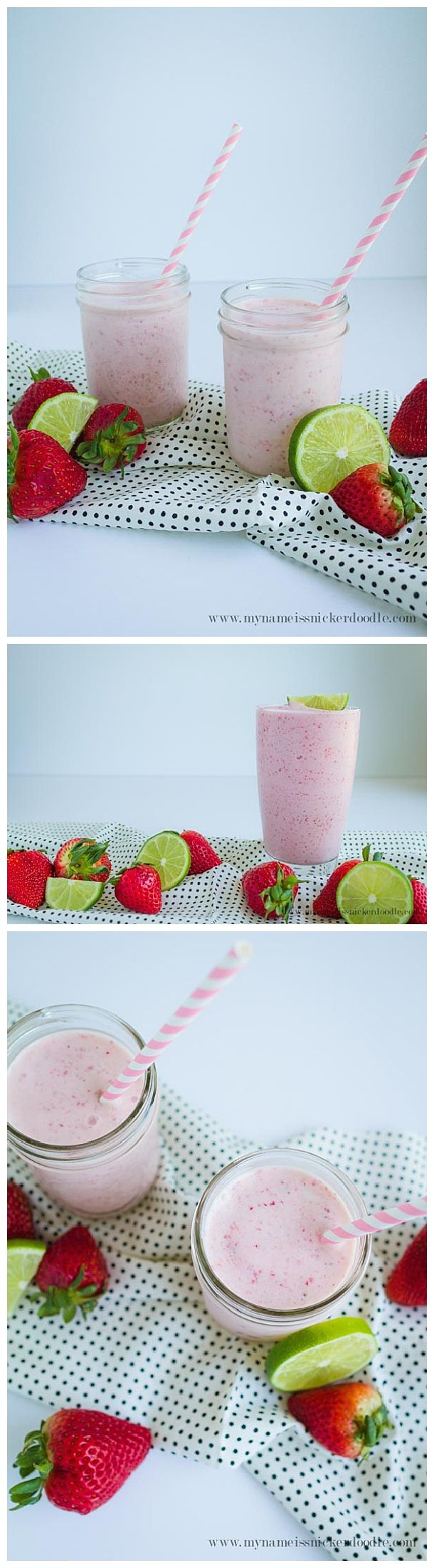 Frosted Freckled Limeade Recipe - Skip the Chick fil A drive thru and try this yummy homemade frozen treat instead!