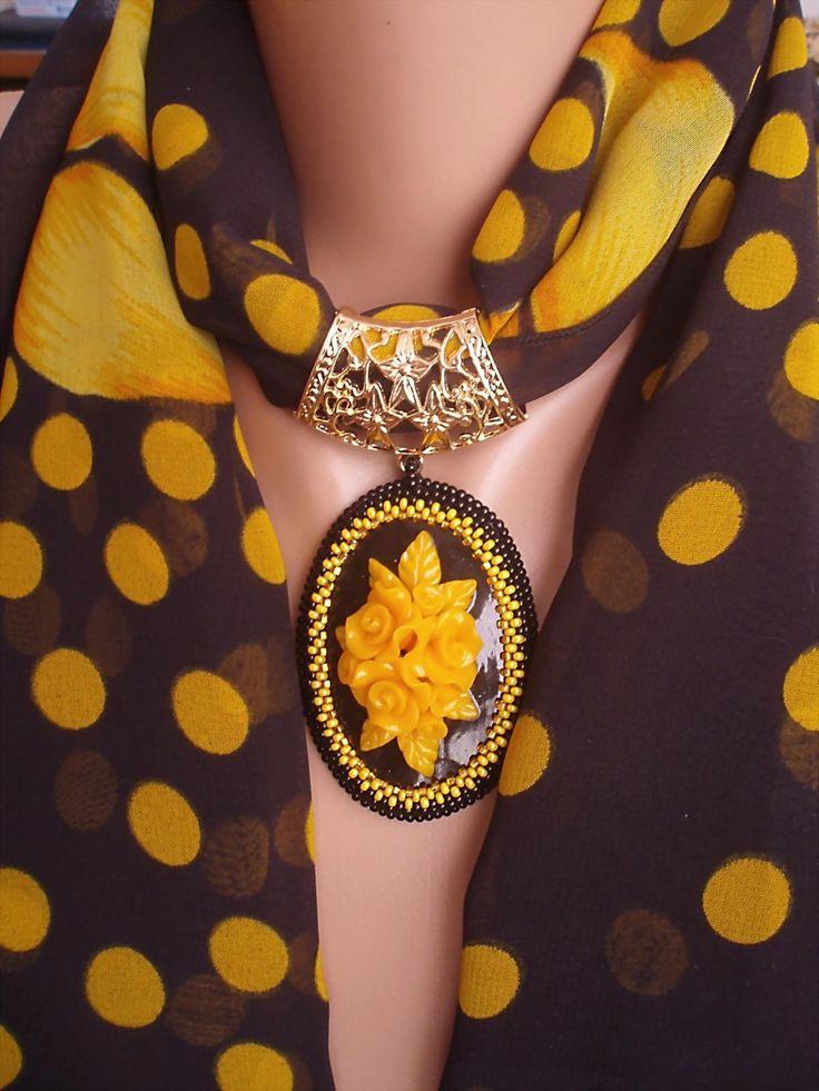 Шарфики, шарфики | biser.info - всё о бисере и бисерном творчестве