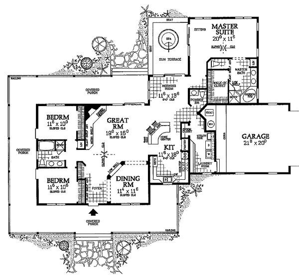 -Bed Old World English-Style House Plan - Btz Architectural Designs