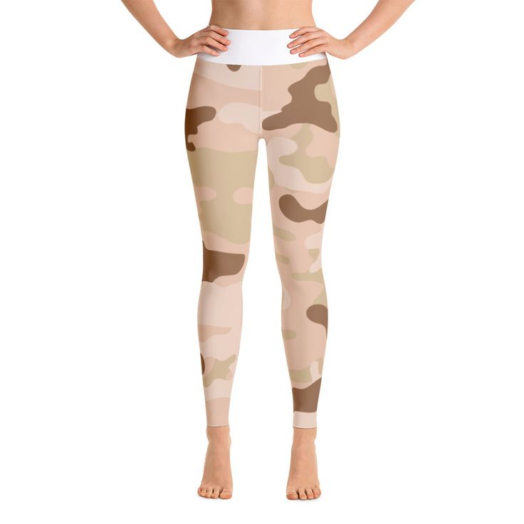 Desert Camo Yoga Pants