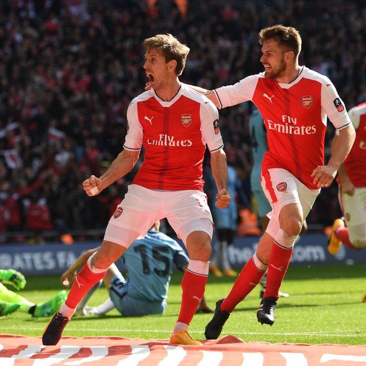@TheArsenal Nacho #Monreal and #Ramsey #FACup #EmiratesFACup #AFCvMCFC #ARSMCI #Arsenal #Gunners #ArsenalFC #AFC #9ine