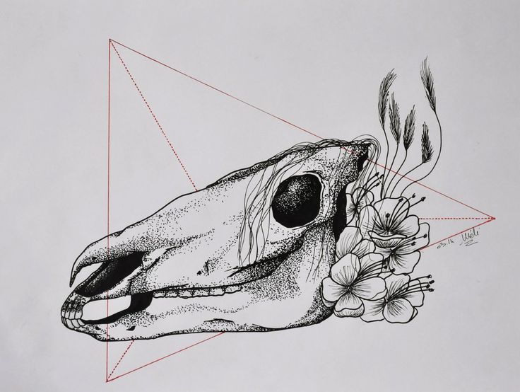 Dot Horse - Tattoo design by MySweetDarkness.deviantart.com on @DeviantArt