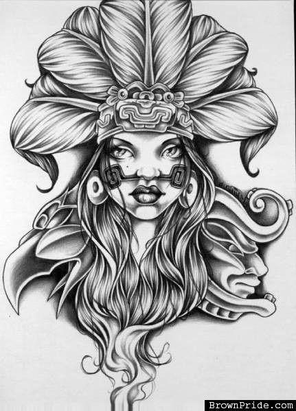 Image Result For Aztec Tattoos E Aa Aztec Mayan Inca Tattoo
