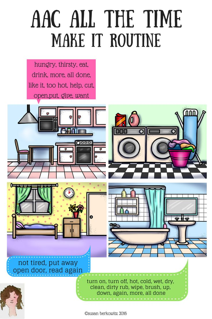 5 Ways to Implement AAC in Daily Routines: Guest Post by Susan Berkowitz on The Speech Bubble. Pinned by SOS Inc. Resources. Follow all our boards at pinterest.com/sostherapy/ for therapy resources.