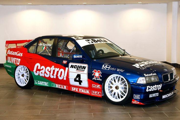 American Italian Race Car Driver