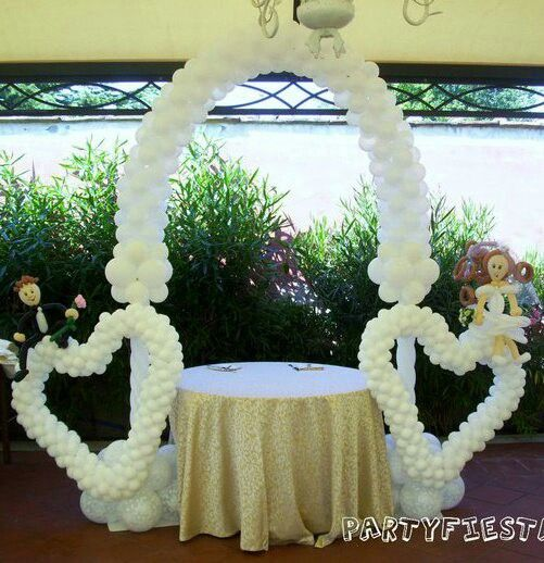 Arco para boda decoracion con globos pinterest for Arreglos para boda en jardin