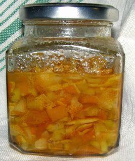 W Mojej Kuchni Lubię.. : skórka pomarańczowa w cukrze...