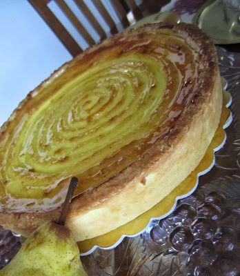 STELLEDILATTA: Crostata con composta di pere alla vaniglia (Monte...