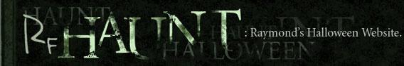 RF Haunt: Raymond's Halloween Website