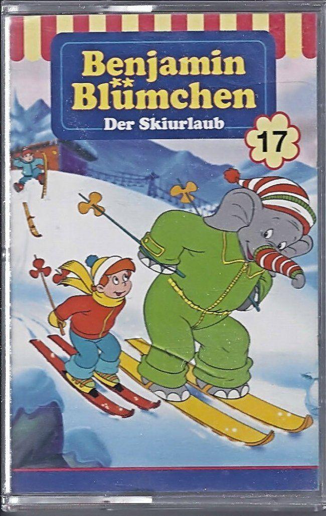 Hörspiel Kassette Benjamin Blümchen Nr. 17n der Skiurlaub - gefunden auf Marias Einkaufsparadies !