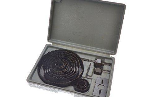 Blue Spot 20509 Coffret scie cloche Acier carbone 127 mm 16 pièces (Import Grande Bretagne): Les scies cloches conviennent pour découper le…