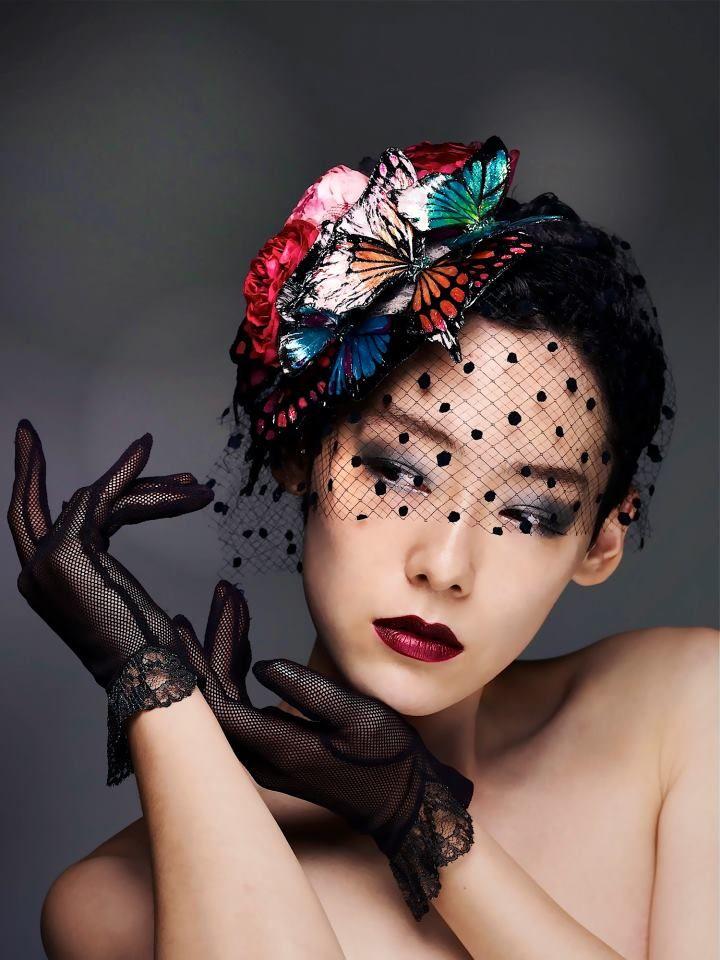 """Butterfly"" created by Ayuko Hishikawa, Tokyo Japan.                                                                                                                                                      More"